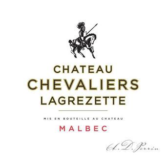 Chateau Chevalier Lagrezette 2016 Malbec, Cahors