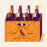 California Red Blends 6 Bottle Sampler