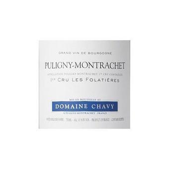 Domaine Chavy 2017 Puligny-Montrachet, Les Folatieres 1er Cru