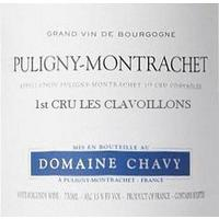 Domaine Chavy 2019 Puligny-Montrachet, Les Clavoillons 1er Cru
