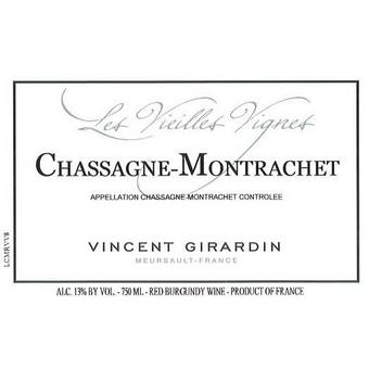 Vincent Girardin 2017 Chassagne-Montrachet Vieilles Vignes
