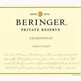 Beringer 2018 Chardonnay, Private Reserve, Napa Valley
