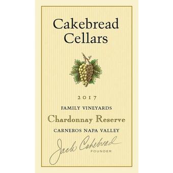 Cakebread 2017 Reserve Chardonnay, Napa Valley