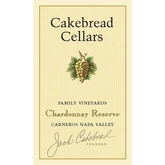 Cakebread 2018 Reserve Chardonnay, Napa Valley