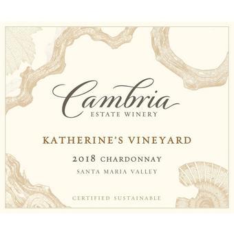 Cambria 2018 Chardonnay, Katherine's Vyd., Santa Maria Valley