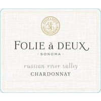 Folie a Deux 2018 Chardonnay, Russian River Valley