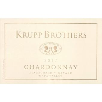 Krupp Brothers 2017 Chardonnay, Stagecoach Vyd., Napa Valley