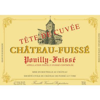 Chateau Fuisse 2018 Pouilly Fuisse, Tete de Cuvee