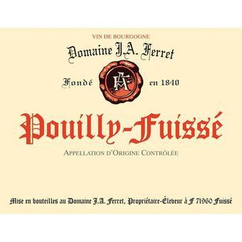Pouilly Fuisse 2017 Domaine J. A. Ferret