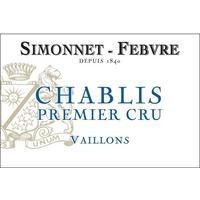 Simonnet-Febvre 2018 Chablis Premier Cru, Vaillons