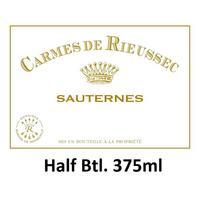 Carmes de Rieussec 2018 Sauternes, Hlf. Btl. 375ml