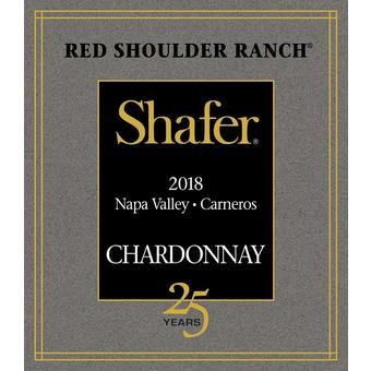 Shafer 2018 Chardonnay, Red Shoulder Ranch, Carneros