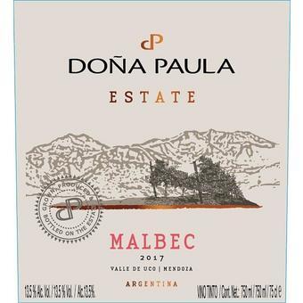 Dona Paula 2017 Malbec Estate, Mendoza