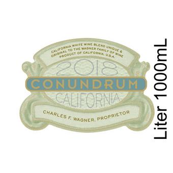 Conundrum 2018 White Blend, California, Wagner Family, 1 Liter