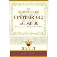 Santi 2019 Pinot Grigio, Valdadige DOC, Sortesele