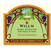 Willm 2014 Gewurztraminer Grand Cru, Clos Gaensbroennel, Alsace