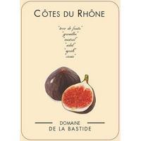 Domaine de la Bastide 2019 Figue Rose, Cotes du Rhone