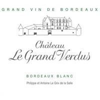 Chateau Grand Verdus 2019 Bordeaux Blanc