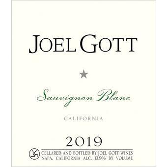 Joel Gott 2019 Sauvignon Blanc, California