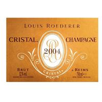 Louis Roederer Cristal 2004 Brut Champagne