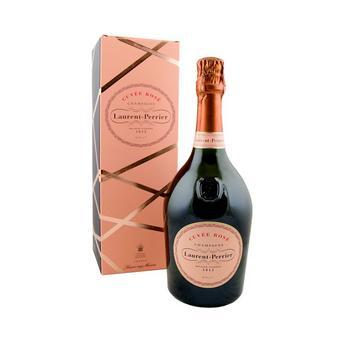 Laurent Perrier Cuvee Rose Brut NV Champagne w / Rose Gold Gift Tin