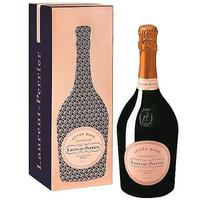 Laurent Perrier Cuvee Rose Brut NV Champagne w / Rose Gold Gift Tin