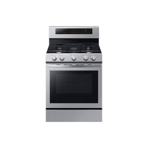 5.8 cu. ft. Self Cleaning Convection Oven Gas Range - Stainless