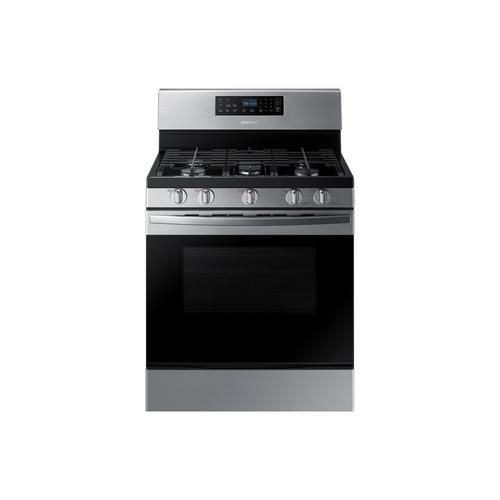 5.8 cu. ft. Self Cleaning 5 Burner Gas Range - Stainless