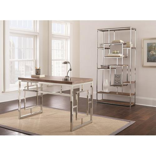 2-Piece Alize Desk and Bookshelf Set