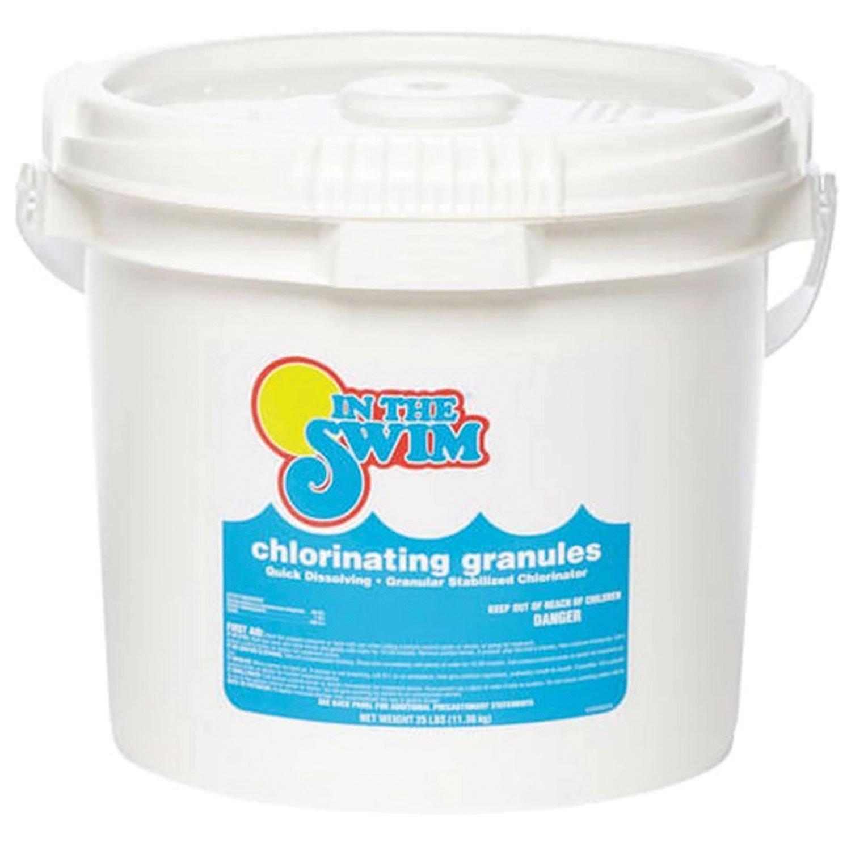 25 Lbs Granular Pool Chlorine