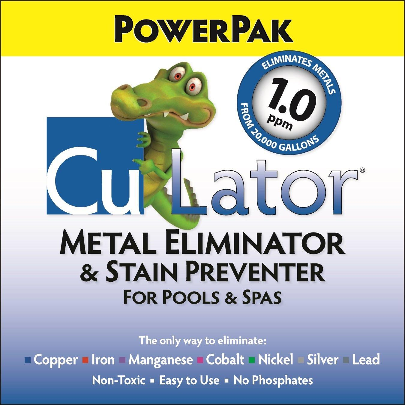 Culator Metal Remover And Stain Preventer For Pools And Spas
