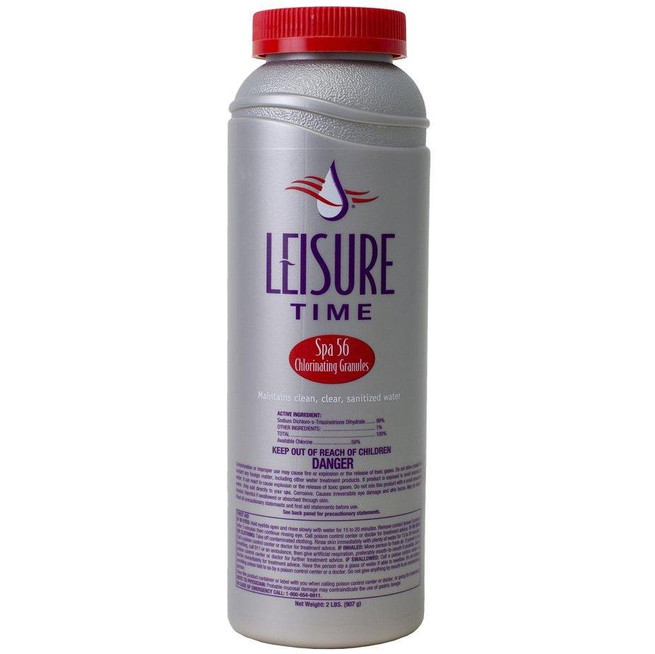 2 Lbs Leisure Time Spa 56 Chlorinating Chlorine Granules