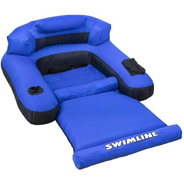 Ultimate Fabric Covered Lounger Pool Float Toy