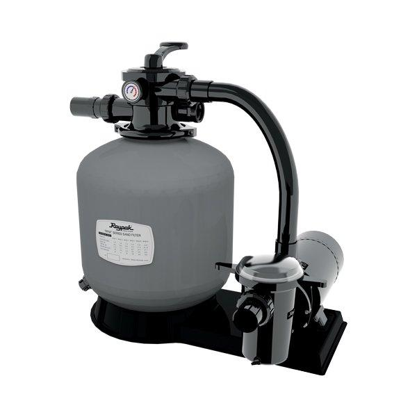 Raypak Protege Sf 21 Inch Top Mound Sand Filter System With 15 Hp Pump