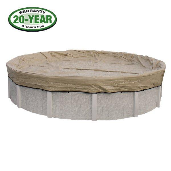 20 Year 21 Ft Round Pool Winter Cover 0 Clips