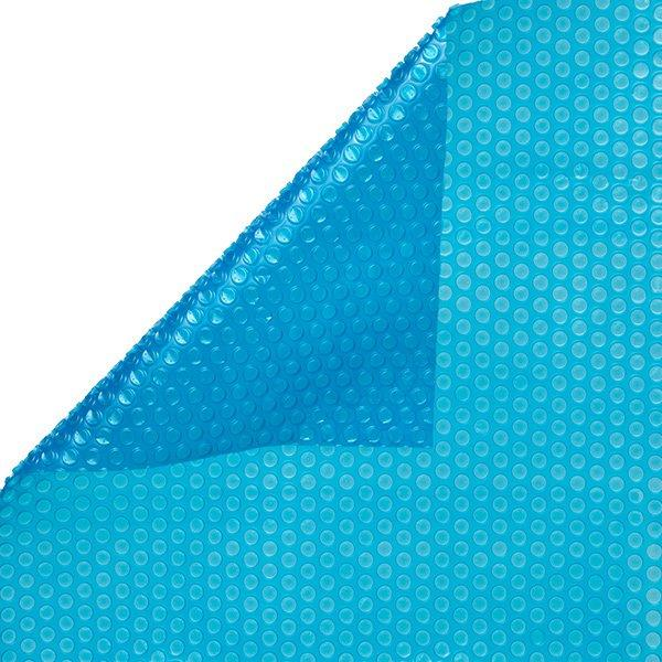 12 X 24 Oval 8 Mil Pool Solar Cover Blanket Blue