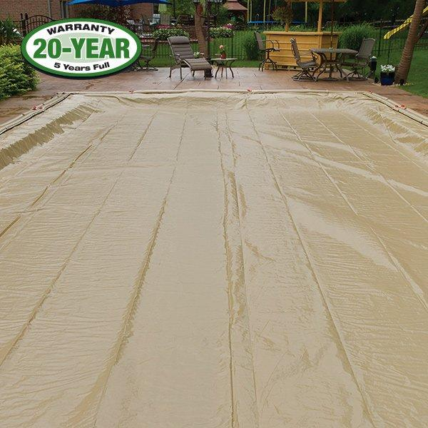 20 Year 16 X 36 Rectangle Pool Winter Cover