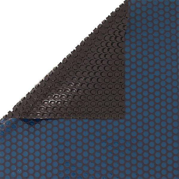 16 Ft Round 12 Mil Blue Black Pool Solar Cover Blanket