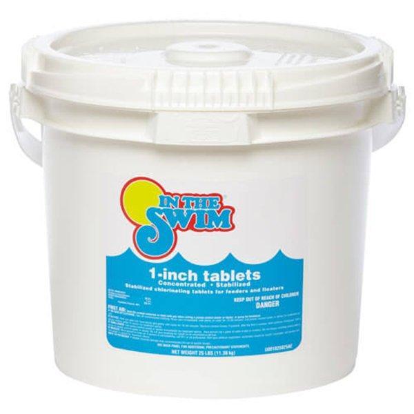 10 Lbs 1 Inch Pool Chlorine Tablets