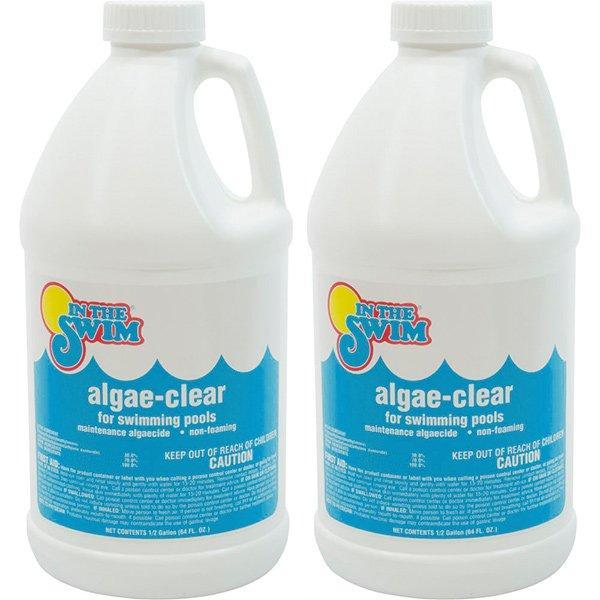 2 X 12 Gallons Algae Clear Pool Algaecide