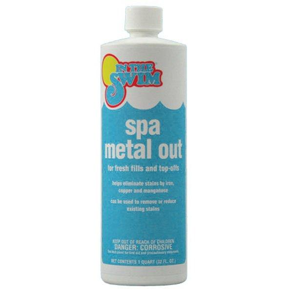 1 Qt Metal Out Spa And Hot Tub Stain Preventer