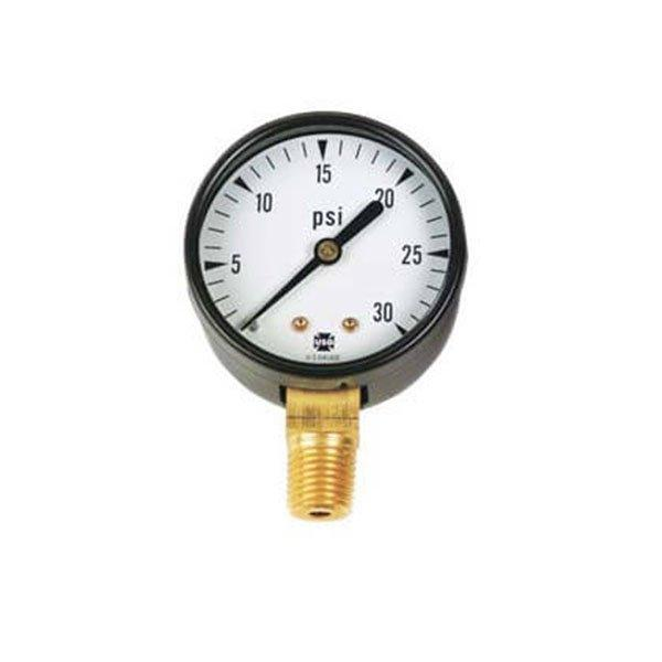 2 Inch Pool Filter Pressure Gauge 0 30 Psi Bottom Mount