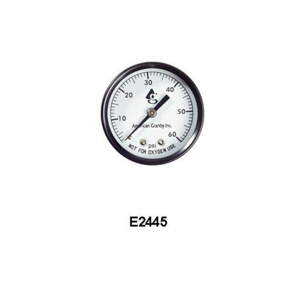 2 Inch Pool Filter Pressure Gauge 0 60 Psi Back Mount