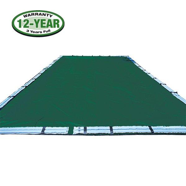 12 Year 25 X 45 Rectangle Pool Winter Cover 0 Tubes