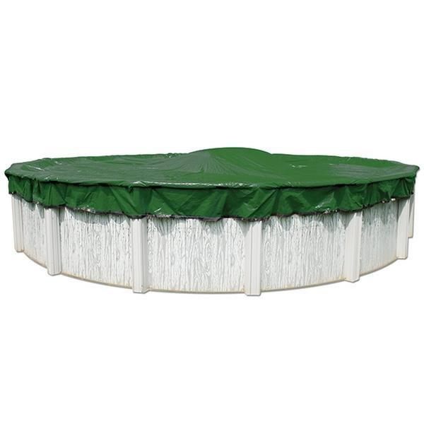 12 Year 24 Ft Round Pool Winter Cover 0 Clips