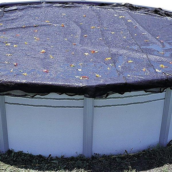 12 Ft Round Above Ground Pool Leaf Cover