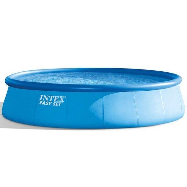 Intex 18Ft Round Easy Set Deluxe Swimming Pool