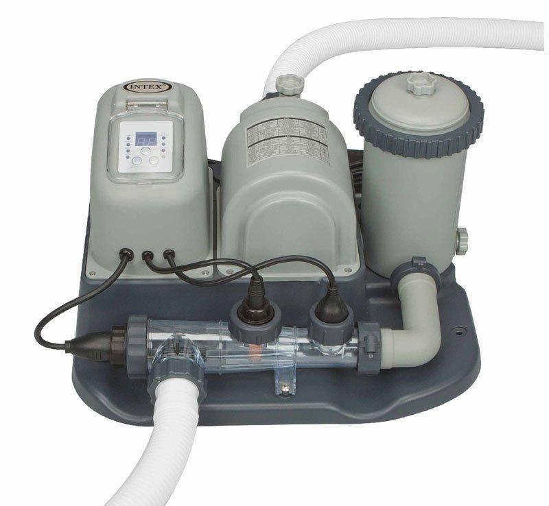 Intex Pool Filter Pump And Chlorine Generator System
