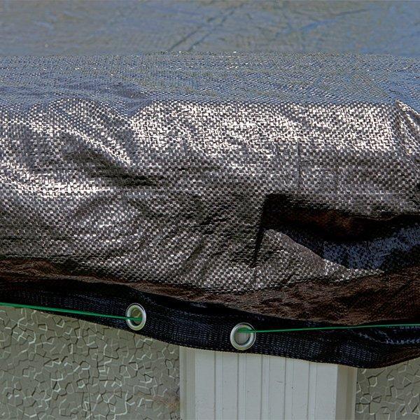 12 X 24 Oval Fine Mesh Pool Winter Cover