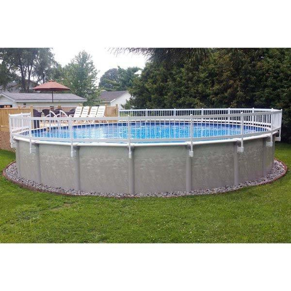 Above Ground Pool Safety Fence Kits 24 Inch 8 Sections